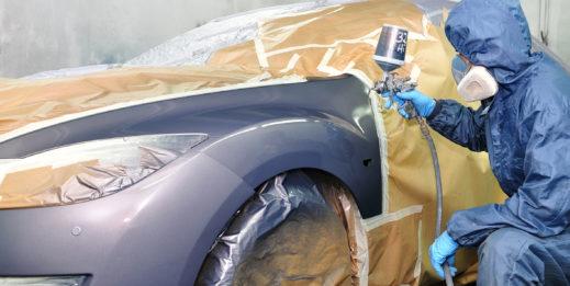 Malowanie bazą i klarem