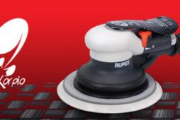 Włoski producent RUPES wprowadza SKORPIO III,   pneumatyczną szlifierkę oscylacyjno – rotacyjną nowej generacji