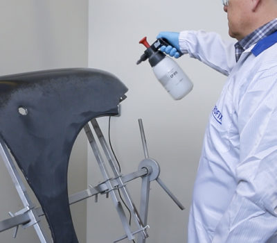 Przygotowanie do lakierowania – odtłuszczenie powierzchni