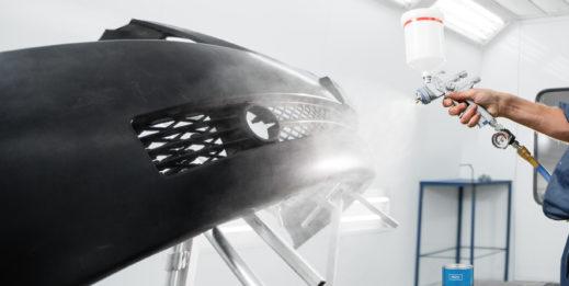 Kabina lakiernicza z powietrzną pompą ciepła