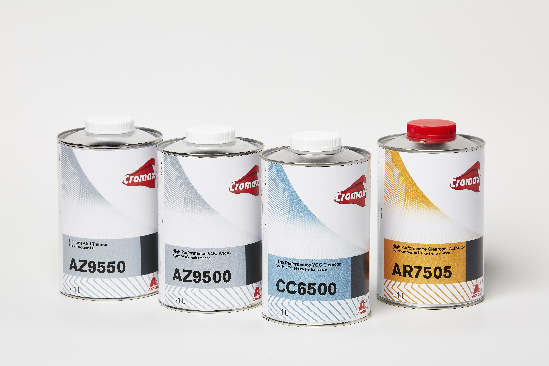 Cromax CC6500 High Performance VOC Clear Coat