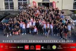 RUPES BIG FOOT SEMINAR POLAND 2019