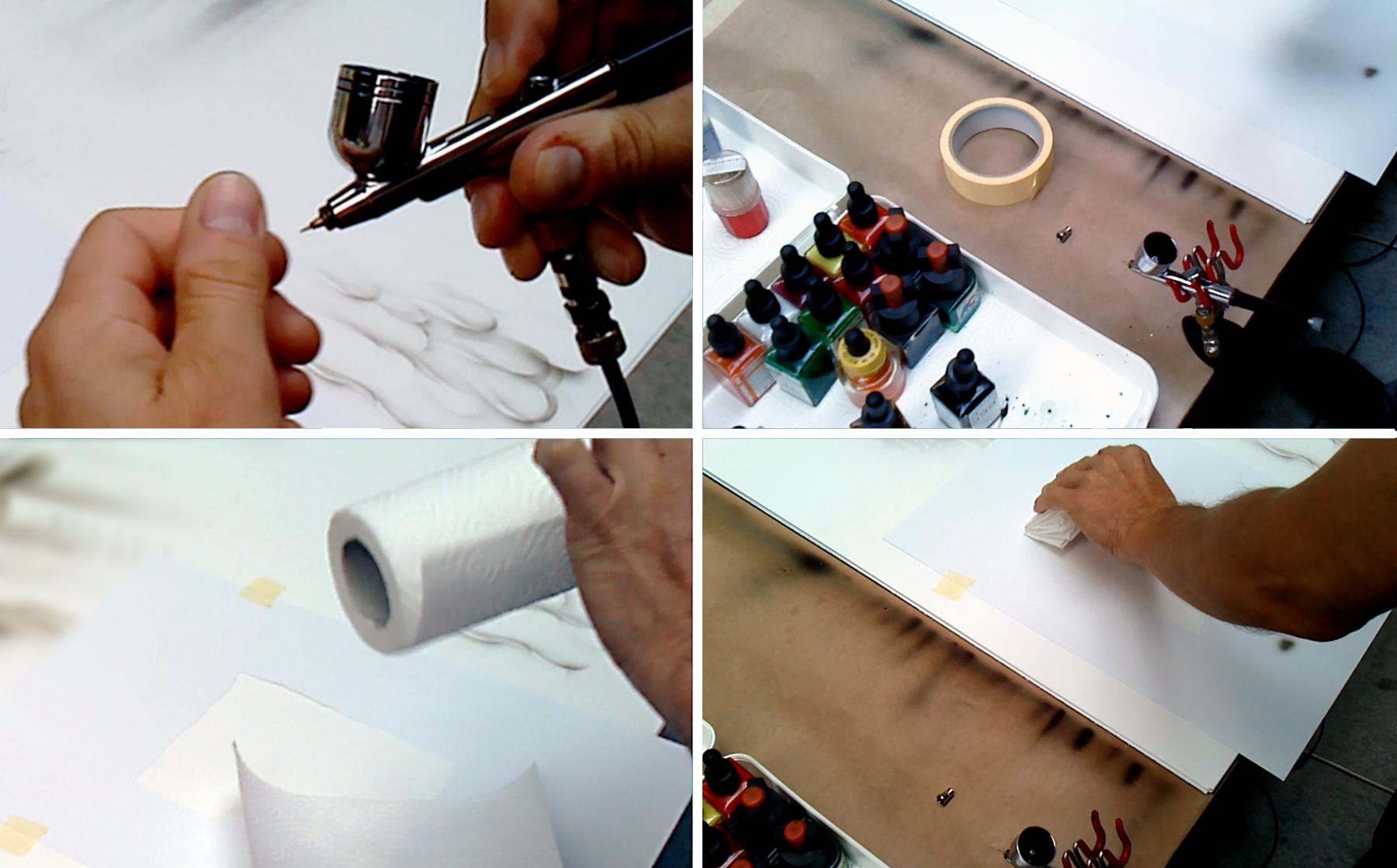 Airbrush & Design - Karpiński, airbrush na odważniku turniejow