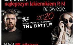 Konkurs na Najlepszego Lakiernika R-M na świecie!