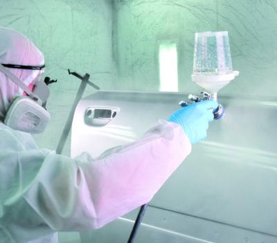 : Technologia standardowej naprawy karoserii samochodowej z wykorzystaniem podkładu reaktywnego ( wash primer)