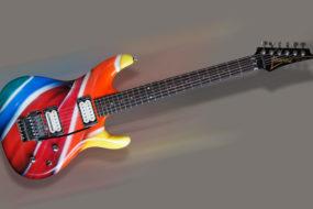 Gitara Ibanez – lizak