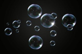 Techniki airbrush: Sposób na bańki mydlane