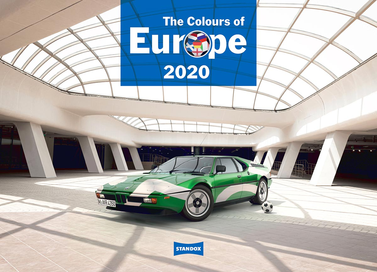 Kolory Europy – kalendarz Standox na rok 2020