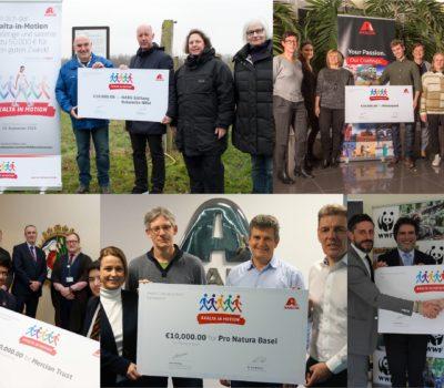 Axalta przekazuje 50 000 euro na przedmioty STEM i ochronę środowiska w regionie EMEA