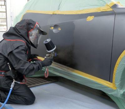 Wskazówki od marki Spies Hecker – aplikacja trójwarstwowego lakieru Machine Grey z palety Mazdy