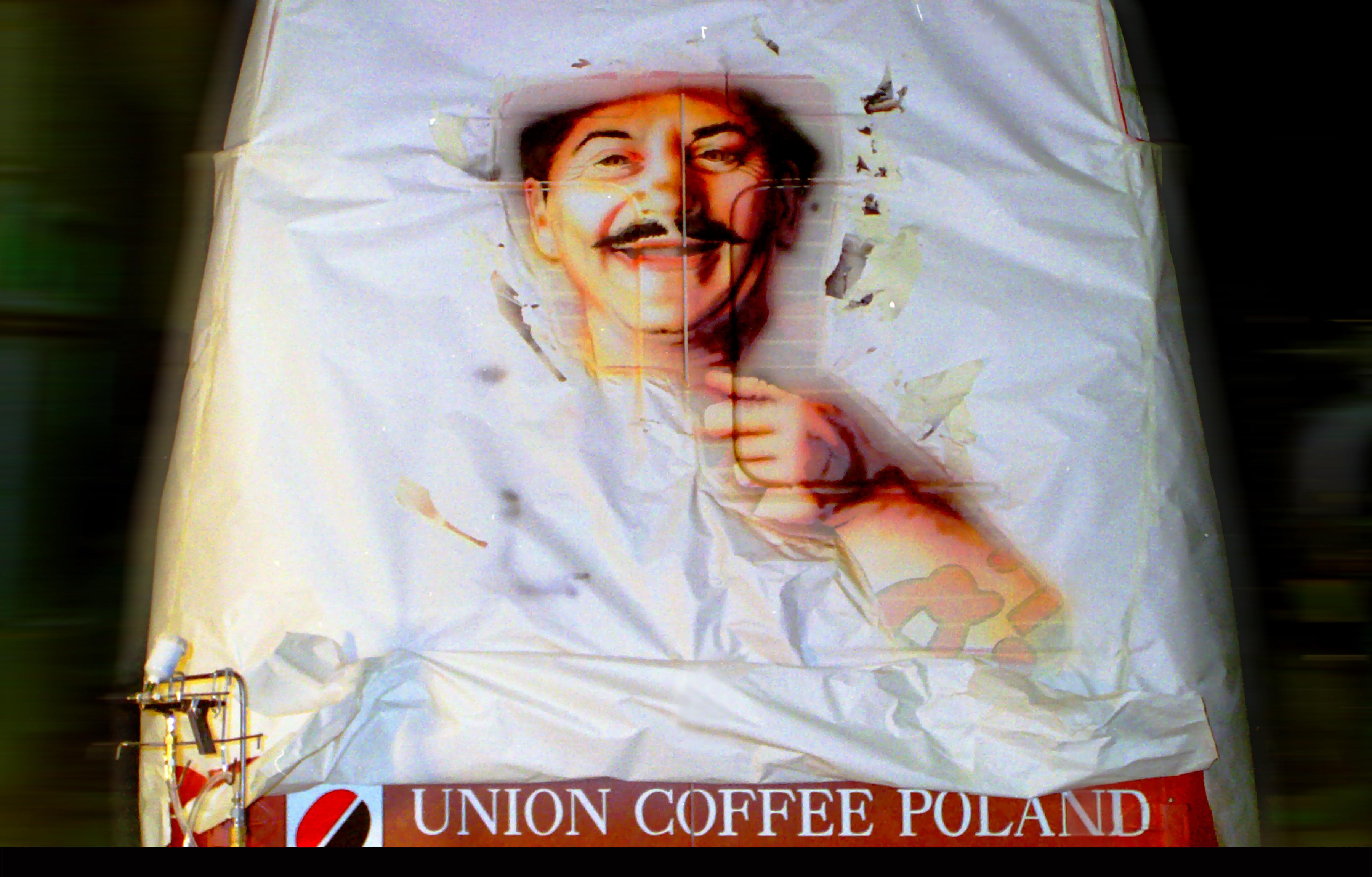 1994-technika-airbrush-kawa-Pedros-dla-Union-Cooffe-Poland