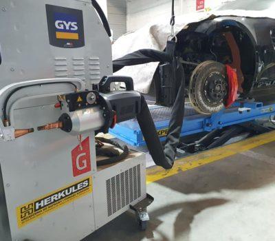 Naprawy powypadkowe współczesnych nadwozi samochodowych wymagają nowych technologii naprawy