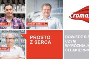 Prosto z Serca – nowa kampania marki Cromax