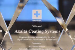 Axalta wyróżniona nagrodą im. Wilhelma Tella za wkład w rozwój Bazylei