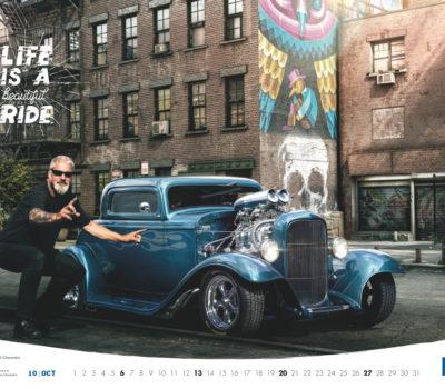 Kalendarz Standox 2019: wyjątkowe auta, wyjątkowy charakter