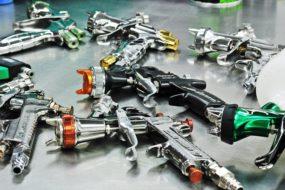 Pistolety – rodzaje, regulacja