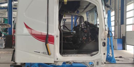 Naprawa kabin pojazdów użytkowych