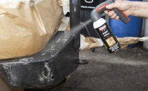 Czy powłoki lakierowe samochodów terenowych można naprawiać sprayami?